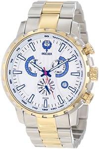 Brillier Men's 16-08 Endurer Gold Chronograph Swiss Quartz Watch
