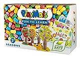 PlayMais 160 371 - PlayMais divertida de aprender Bastelset Seasons, 550 partes