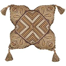 Jennifer Taylor Valenciaga Collection Pillow 18-Inch by 18-Inch