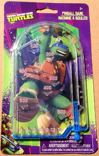 Mini Teenage Mutant Ninja Turtle Pinball Toy Party Prize