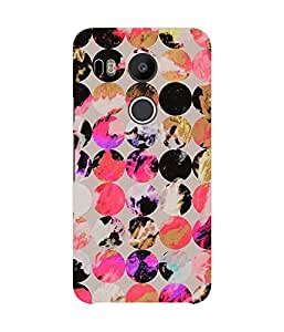 Multicoloured Circles Lg Nexus 5X Case