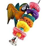 Dealglad® Loofah Sponge Pet Bird Parrot Macaw Cockatoo Cockatiel Conure Plant Fibre Parrot Chew Toy