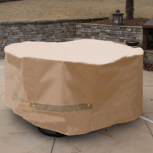 sf40245 deluxe round table and chair set cover the lawn garden