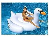 "Swimline 90621 - ""The Original"" Giant Swan Ride-On - 75-inch"