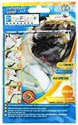 Pawflex Bandages Universal Joint Bandages for Pets (Pack of 4) 2XSmall-XSmall