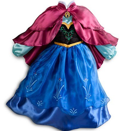 US Disney Store Ana DX costume Anna Costume for Girls - Frozen parallel line imports (120 cm ( US5/6 ))