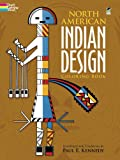 North American Indian Design Coloring Book (Dover Design Coloring Books) (0486211258) by Paul Kennedy