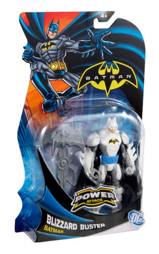 Batman Power Attack Mission Blizzard Buster Batman Figure