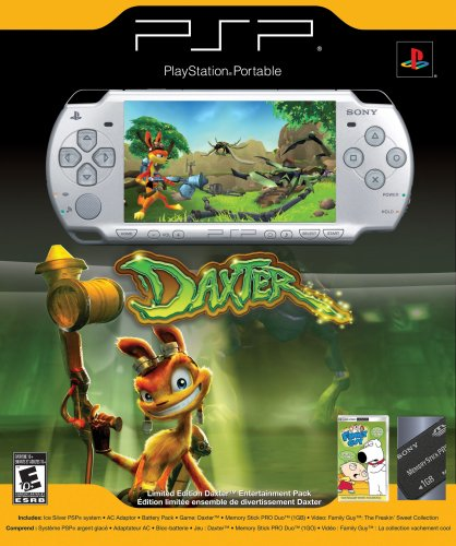 Sony Psp Daxter Entertainment Pack - Ice Silver