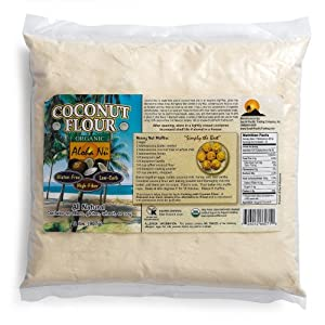 Aloha Nu Certified Organic Coconut Flour, 32-Ounce Bag