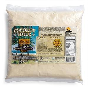 Aloha Nu Certified Organic Coconut Flour, 32-Ounce Bag