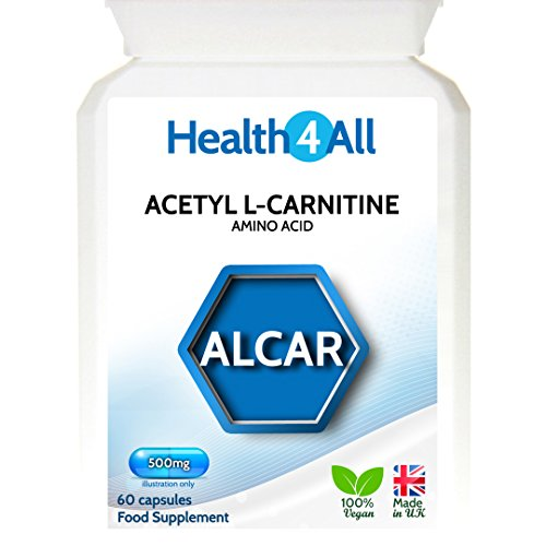 EAN 5060440601729 Acetyl L Carnitine Alcar 500mg Capsules ...