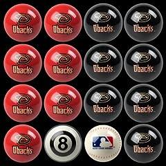 Arizona Diamondbacks MLB Home vs. Away Billiard Balls Full Set (16 Ball Set) by... by Imperial
