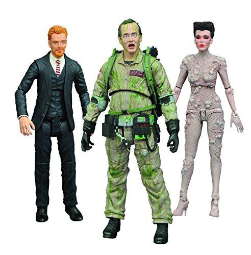 Ghostbusters: Gozer, Venkman and Walter Peck Action Figures Series 4 Assortment