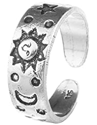 Jewels Cart Sterling Silver Toe Ring For Women
