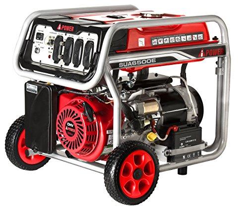 Ai Power SUA6500E E-Start Portable Generator (Propane Tanks 7 Gallon compare prices)
