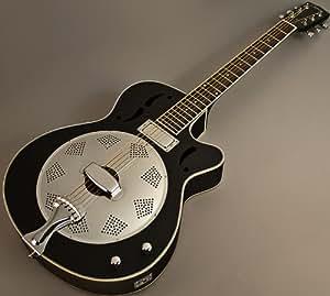 johnson swamp stomper jr 520 acoustic electric resonator guitar w case musical. Black Bedroom Furniture Sets. Home Design Ideas