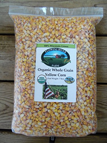 Flowing River Farm Organic Whole Grain Yellow Corn | Giant
