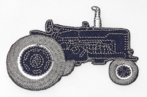 Farm Tractor Diy Applique Embroidered Sew Iron On Patch Tt-001
