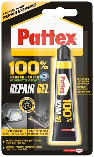 Colla Adesivo Universale 100% Repair Gel Henkel 8 Gr