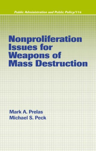 Nonproliferation Issues For Weapons of Mass Destruction...