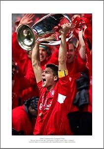 Liverpool Fc Steve Gerrard 2005 Champions League Photo Memorabilia