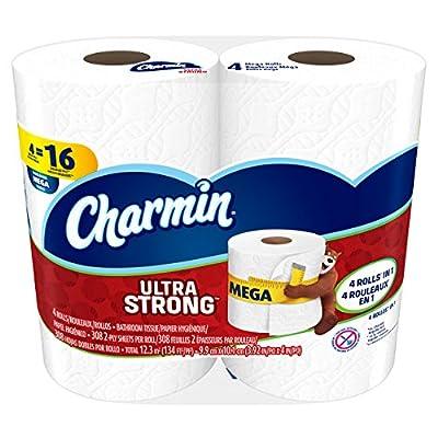 Charmin Ultra Strong Toilet Paper, Mega Roll,Bath Tissue