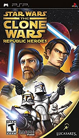 Star Wars the Clone Wars: Republic Heroes - Sony PSP