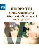 Hindemith : Quatuors à cordes, Vol.2 - quatuors n° 5, n° 6 et n° 7