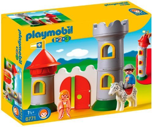Playmobil 1.2.3 My First Knight's Castle by Playmobil als Weihnachtsgeschenk