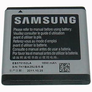 1650 mAh Samsung Galaxy S 4G OEM Battery EB575152LA GalaxyS T959v
