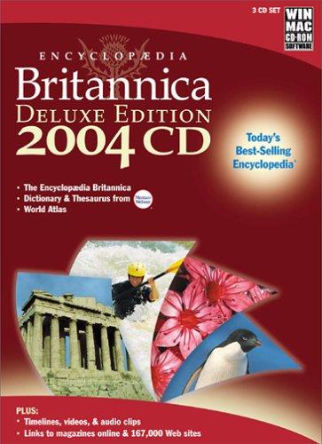 Encyclopaedia Britannica 2004 Deluxe Edition