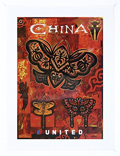 china-united-airline-butterfly-orient-east-cathay-framed-print-picture-f12x1365