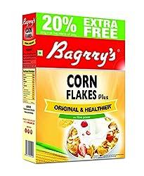 Bagrry's Corn Flakes Plus, 250g Box (20% Extra)