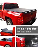 Premium TriFold Tonneau Truck Bed Cover For 07-13 Chevy/GMC...