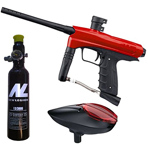 Kids Paintball Markierer cal.50 inkl. Loader und 0,2 Liter HP System - Red Dragon