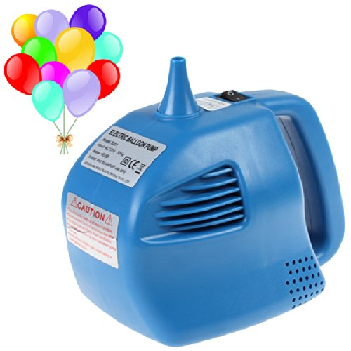 Origlam® 400W Electric Balloon Pump Single Nozzle Balloon Inflator Blue Pump For Parties, Weddings, Celebrations