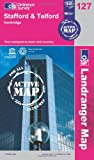 Ordnance Survey Stafford & Telford, Ironbridge (OS Landranger Map Active) (OS Landranger Active Map)