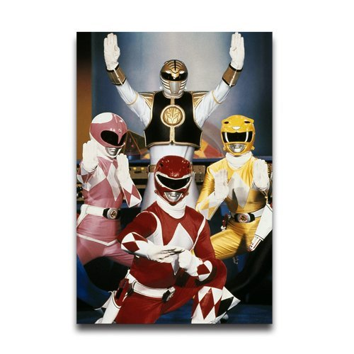 Popular Fashion Home Bedroom Decor Paper Poster Customized Power Rangers Custom Poster 20x30 Inch (Power Ranger Bedroom Decor compare prices)