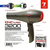 Tyche Turbo 3200 Professional Ionic Ceramic Tech Hair Dryer Dries Hair Fast Infrared Hair Shine Electromagnetic Radiation