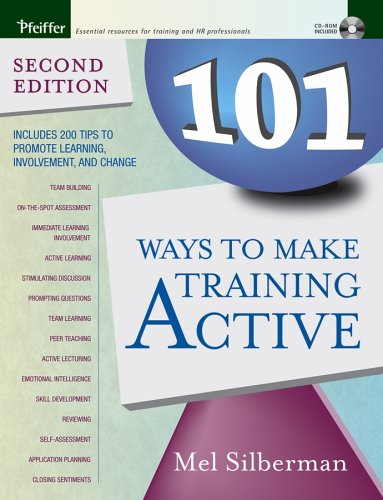 101 Ways to Make Training Active 0787976121 pdf