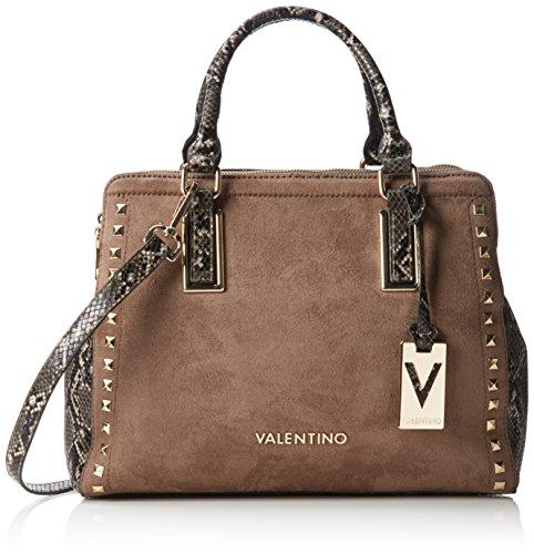 valentino-by-mario-valentino-damen-luxor-henkeltaschen-braun-fango-33x27x15-cm