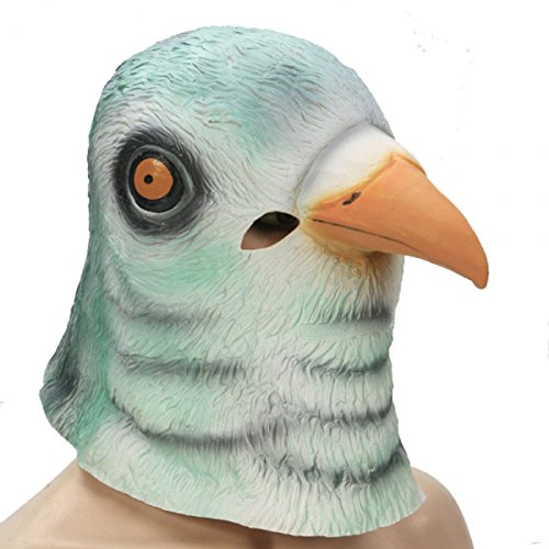Funny Pigeon Head Style Natural Latex Masquerade Halloween Cosplay by Preciastore