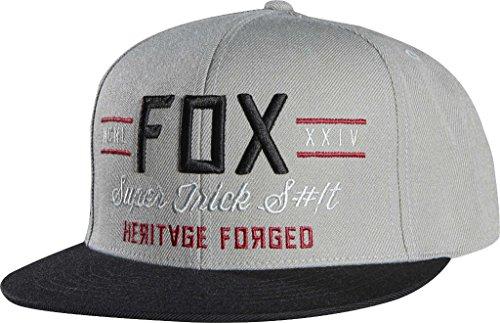 Fox Obscure Snapback Cap - Grey