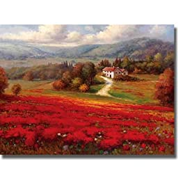 French Countryside by Marino Premium Stretched Canvas Art (Ready to Hang)