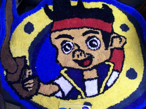 Disney Jake and the Neverland Pirates Bath Room Rug 25in x 30in