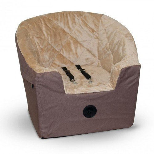 K&H Bucket Booster Pet Car Seat, Small, Tan (Pet Booster Car Seat compare prices)