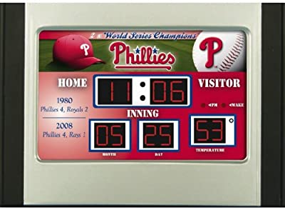 MLB Scoreboard Desk and Alarm Clock