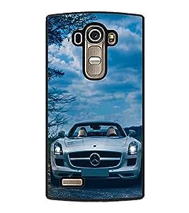 Luxury Car 2D Hard Polycarbonate Designer Back Case Cover for LG G4 :: LG G4 Dual LTE :: LG G4 H818P H818N :: LG G4 H815 H815TR H815T H815P H812 H810 H811 LS991 VS986 US991