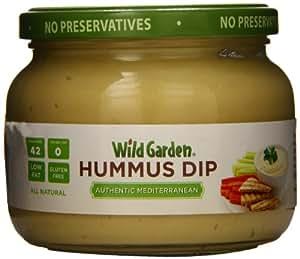 Wild Garden Hummus Dip, Mediterranean Style, 13.4 Ounce
